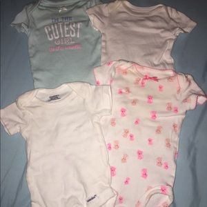Other - Newborn Baby Girl Oneise's Set